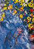 Marc Chagall flower painting