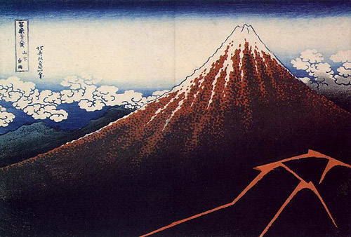 Hokusai Mount Mt. Fuji Japanese painting