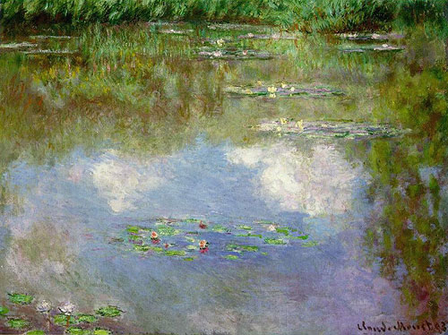 Monet Lilies painting