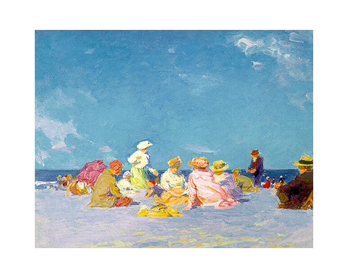 Potthast painting Afternoon Fun