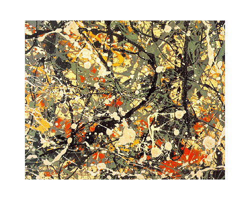 Pollock painting Number 8