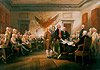 John Trumbull Signing of Declaration of Independence painting