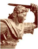 Bronze statue of Alexander